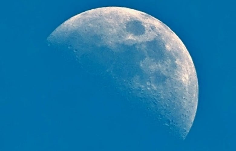 Blue Afternoon Moon