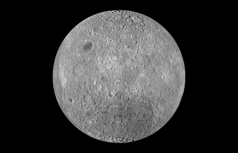 What Are The Dark Spots On The Moon Called