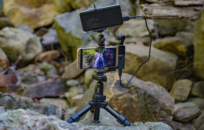 Consider the weight of everything you'll be putting on top of your mini tripod.