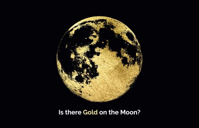 Gold On The Moon