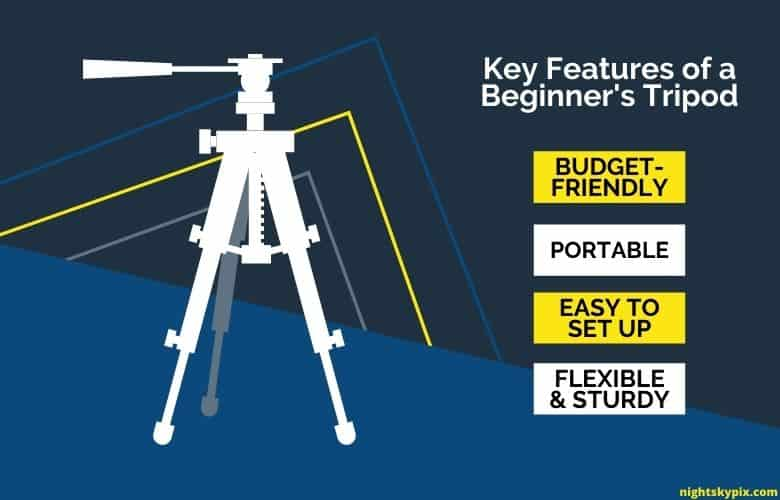 Key Features of a Beginner's Tripod