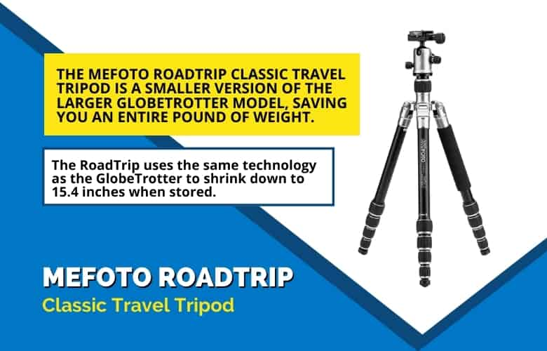 MeFOTO RoadTrip Classic Travel Tripod