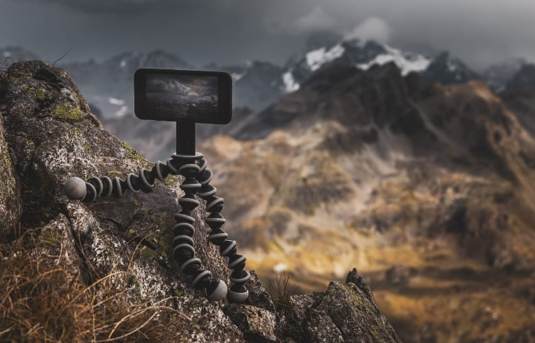 Mini tripods are by design lightweight
