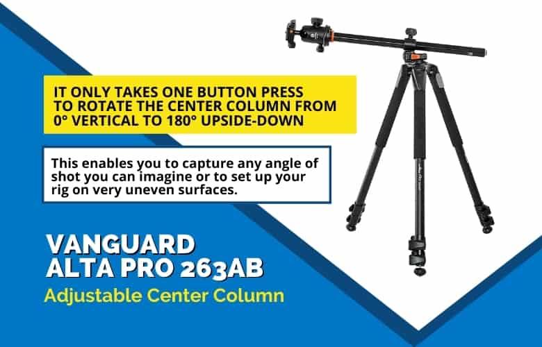 Vanguard 263AB Adjustable Center Column