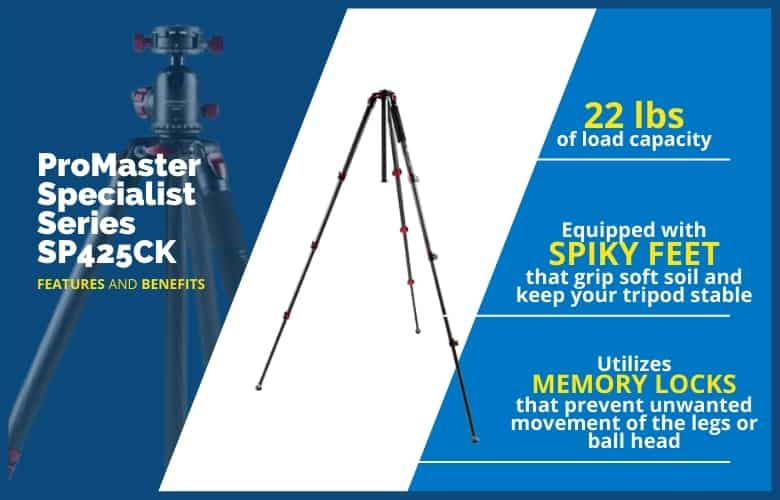ProMaster Specialist Series SP425CK features