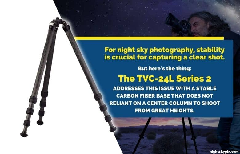 The TVC-24L Series 2 stability